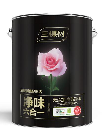 5.1L美好生活净味六合一墙面漆